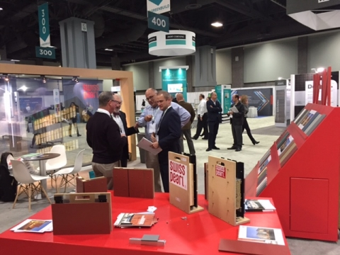 GreenBuild 2015 SWISSPEARL Cladding Corp