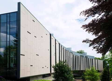 Vassar Integrated Science SwissPearl Cem5 Fibercement Rainscreen Cladding