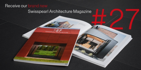 "SWISSPEARL® Magazine #27 Features Cladding Corp Projects The ""Red Barn"" and Varina Area Library"