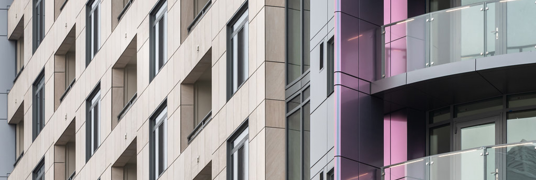 400 K Street NW - Detail - Ceramic5 Rainscreen - Photo Credit: Brycen Fisher Photography