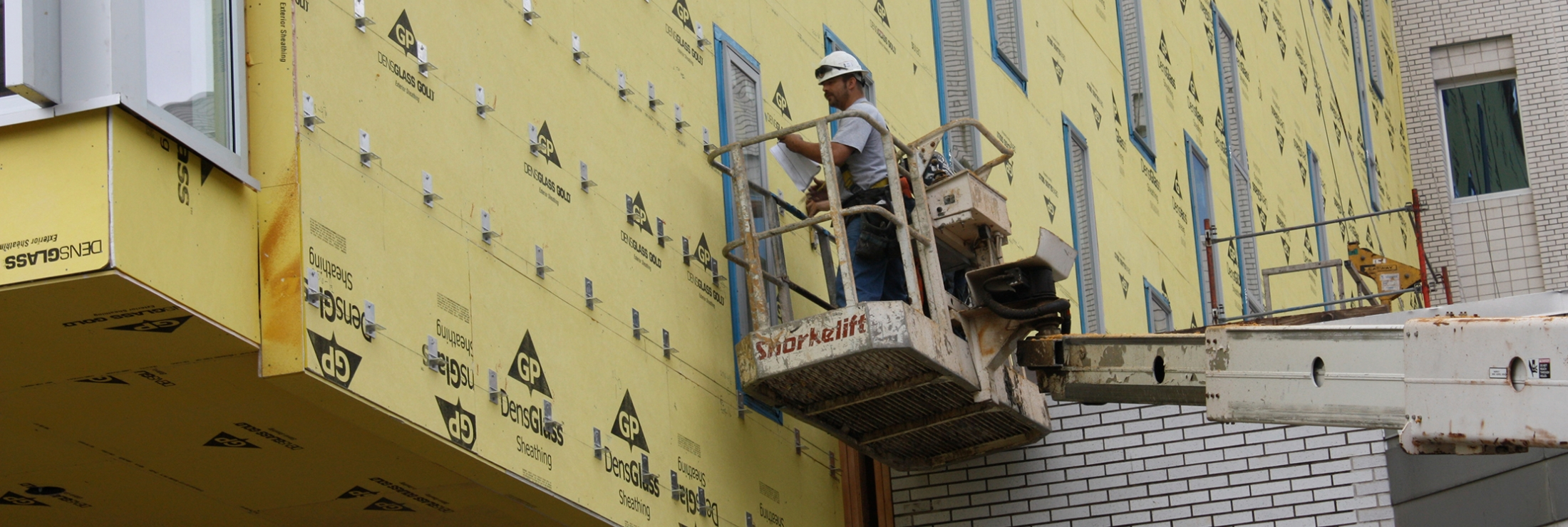 Cladding Corp ECO Cladding Wall Bracket Installation Elevation