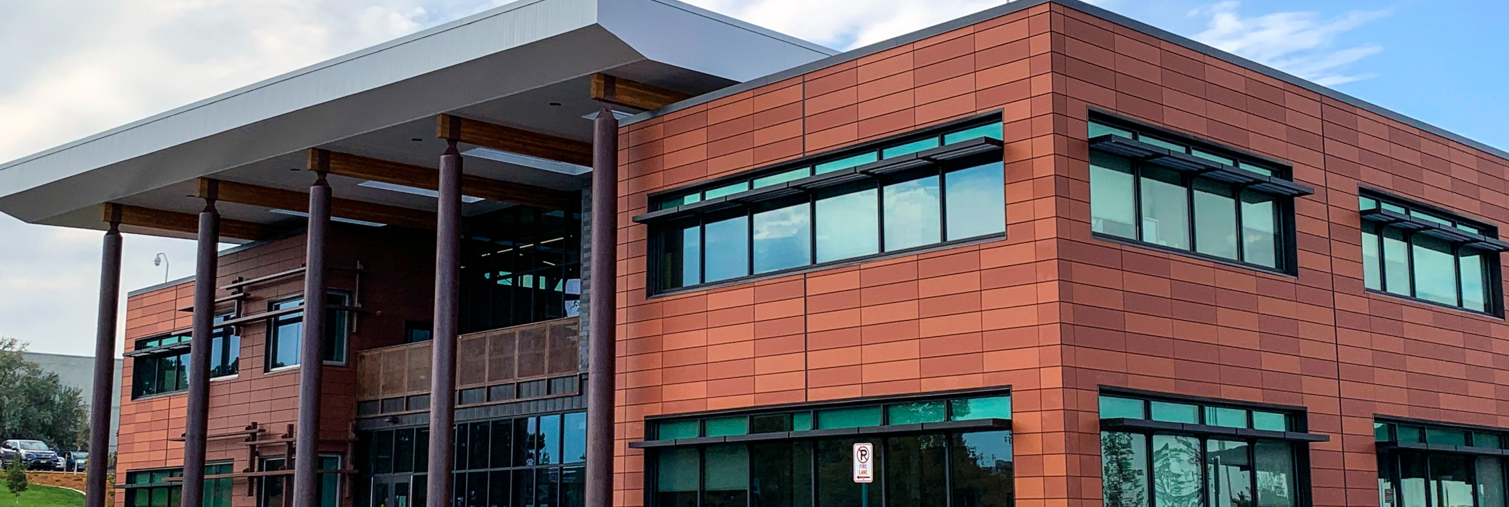 Cladding Corp Terra5 Terracotta Rainscreen & ECO Cladding Hci.22 Subframing Cladding System
