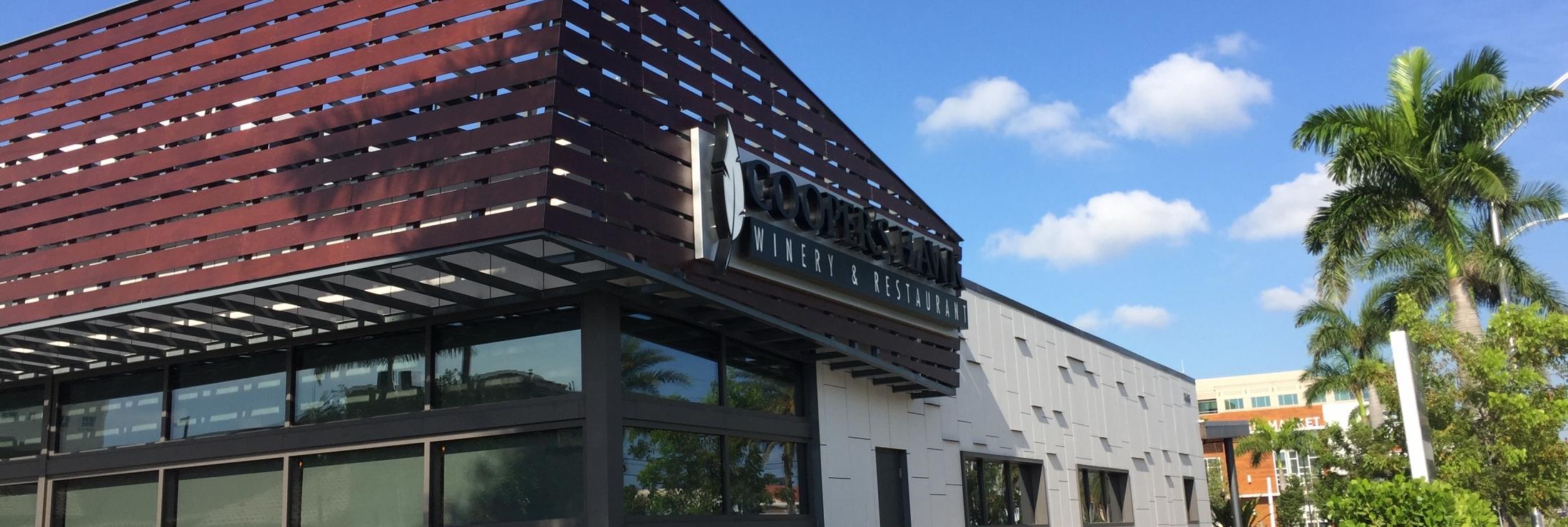 Cooper's Hawk Restaurant Doral FL - Swisspearl - Fiber Cement Panels