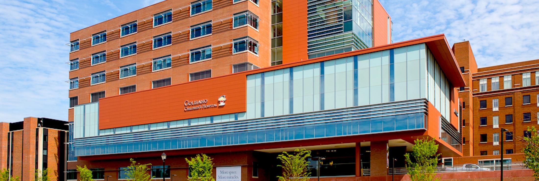 Cladding Corp Swisspearl Rainscreen Golisano Children's Hospital